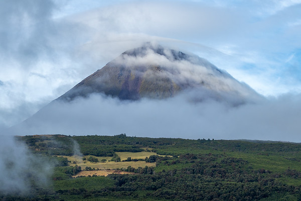 Pico Volcano as seen from São Roque do Pico, Azores