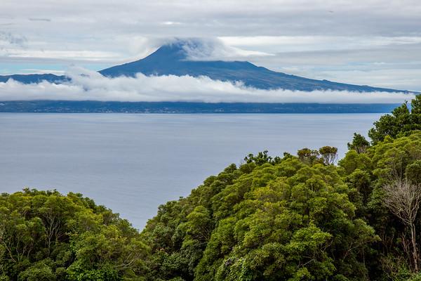 View over Pico from Santo Amaro, São Jorge, Azores