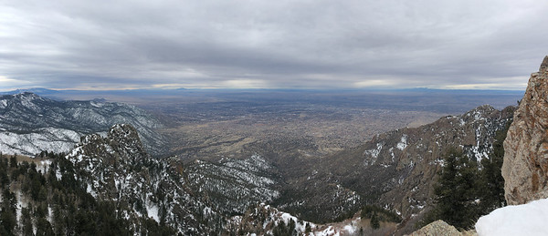 Sandia Peak, Albuquerque, New Mexico, USA