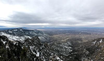 Sandia Peak, Albuquerque, New Mexico, USA