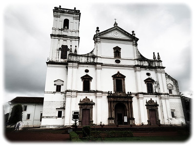 Sé Cathedral, Goa Velha, India