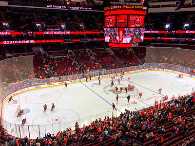 Philadelphia Flyers vs. Detroit Red Wings, Philadelphia, USA