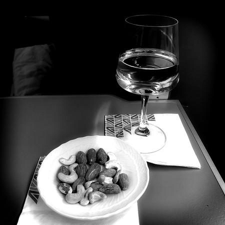 Flying Alitalia business class