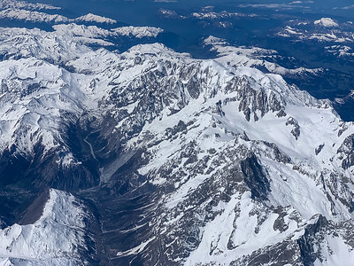 Mont Blanc, Italy and France