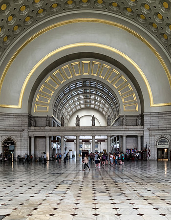 Union Station, Washington DC, USA