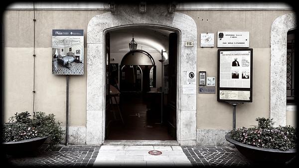 Birthplace of Gabriele D'Annunzio, Pescara, Italy