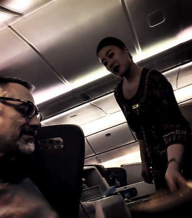 Flying Singapore airways