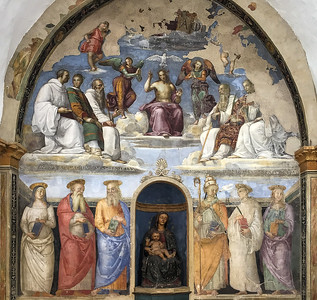 Michelangelo, San severo chapel, Perugia, Italy