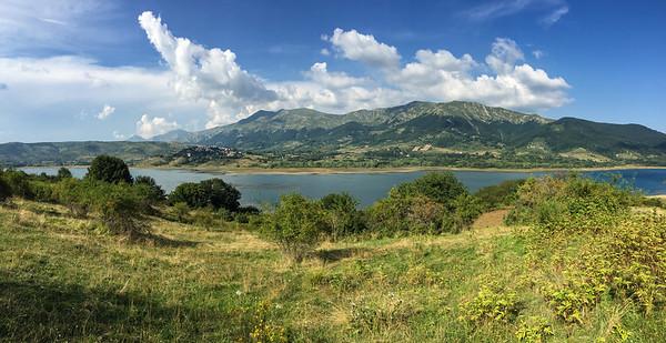 Lago di Campotosto, Italy
