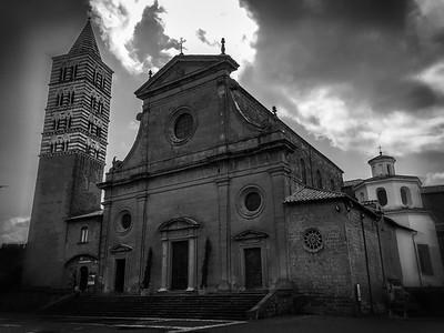 St. Lorenzo Cathedral, Viterbo, Italy