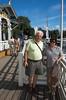 Por la costanera de Naantali