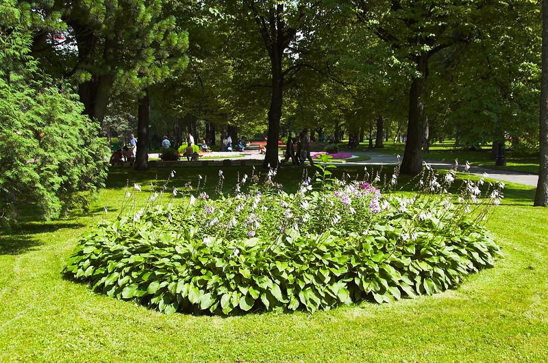 Jardines en el Kremlin