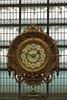 Antiguo reloj de la estación