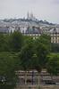 Sacré-Coeur visto desde la terraza del museo