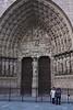 Puerta principal de Notre Dame
