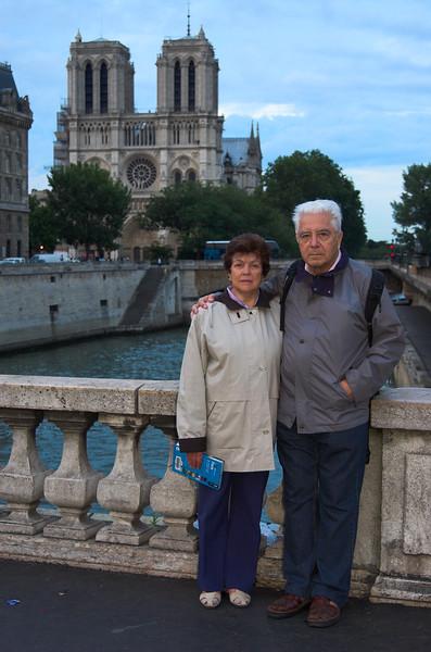 Frente a Notre Dame