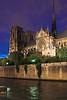 Notre-Dame al anochecer