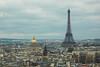 Torre Eiffel desde Notre Dame