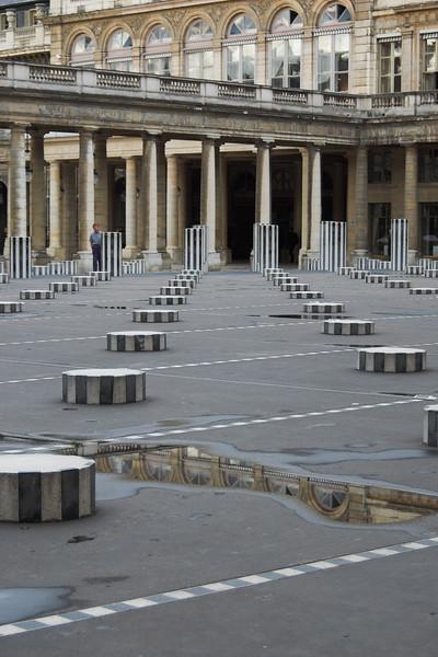 Esculturas en Palais Royale