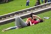 Descansando en el parque