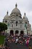 Escalera de acceso al Sacré-Coeur