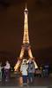 Torre Eiffel y Papás en Trócadero