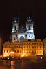 Iglesia Týn y plaza del mercado