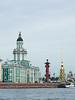 Academia de ciencias desde el rio Neva