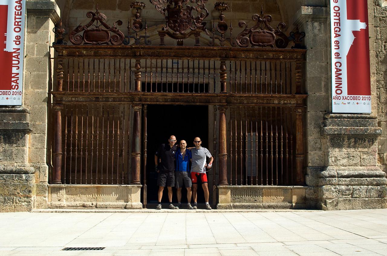 Seguimos en San Juan de Ortega.