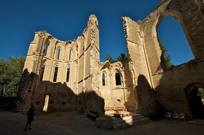 Ruinas del Convento de San Antón, que tb tuvo hospital de peregrinos. Ahora han montado un pequeño albergue muy básico, aunque tenía su encanto.