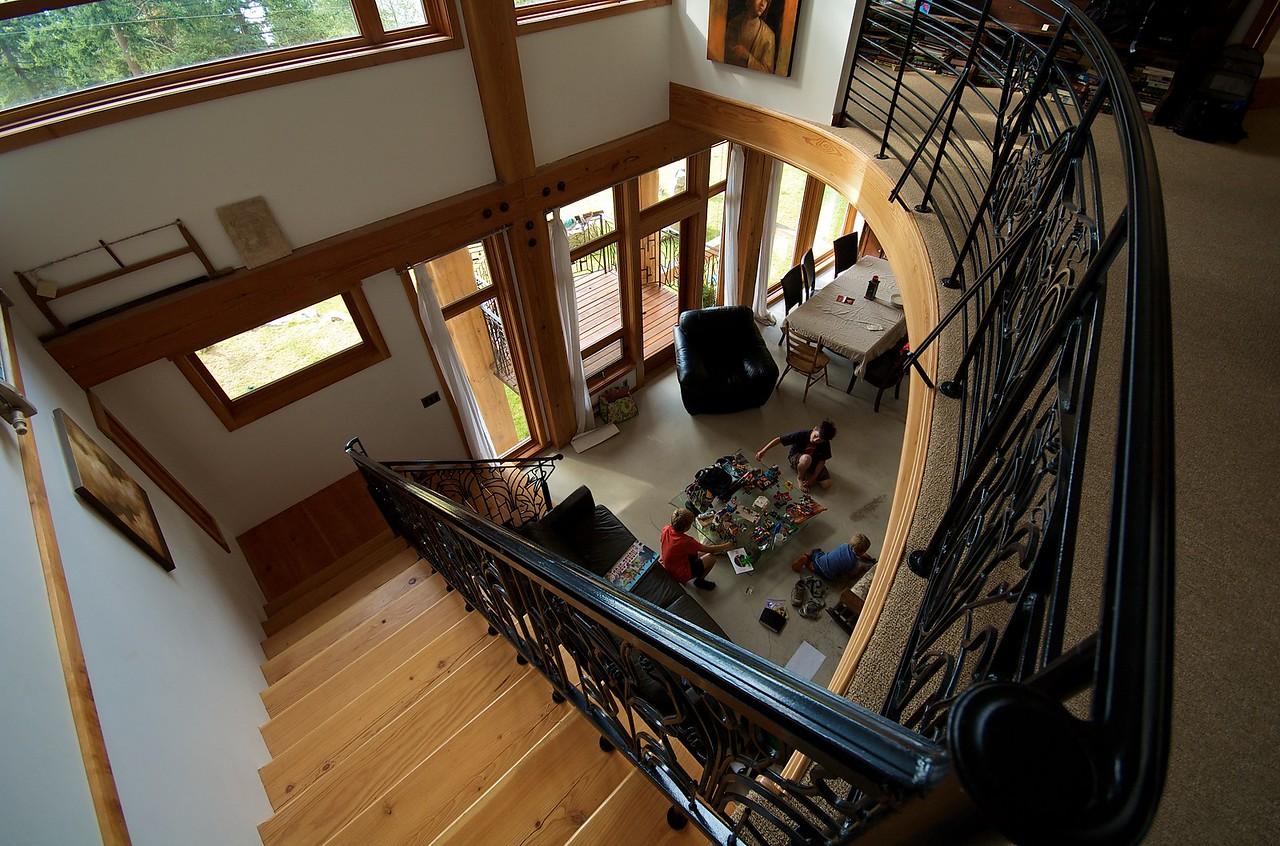Interior de la casa de Michelle y Stacy