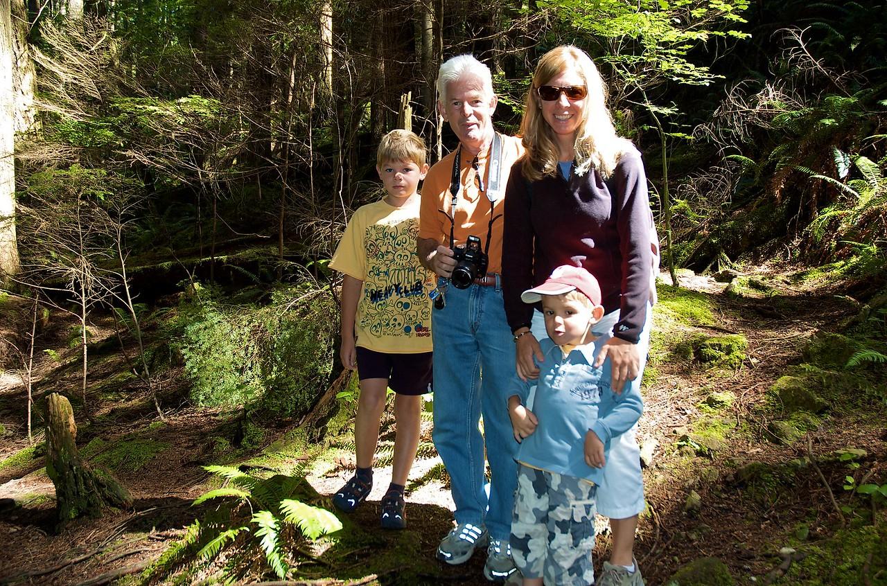 Family picture de los Oakes.