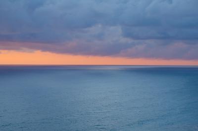 Atardecer desde Punta Gabriela.