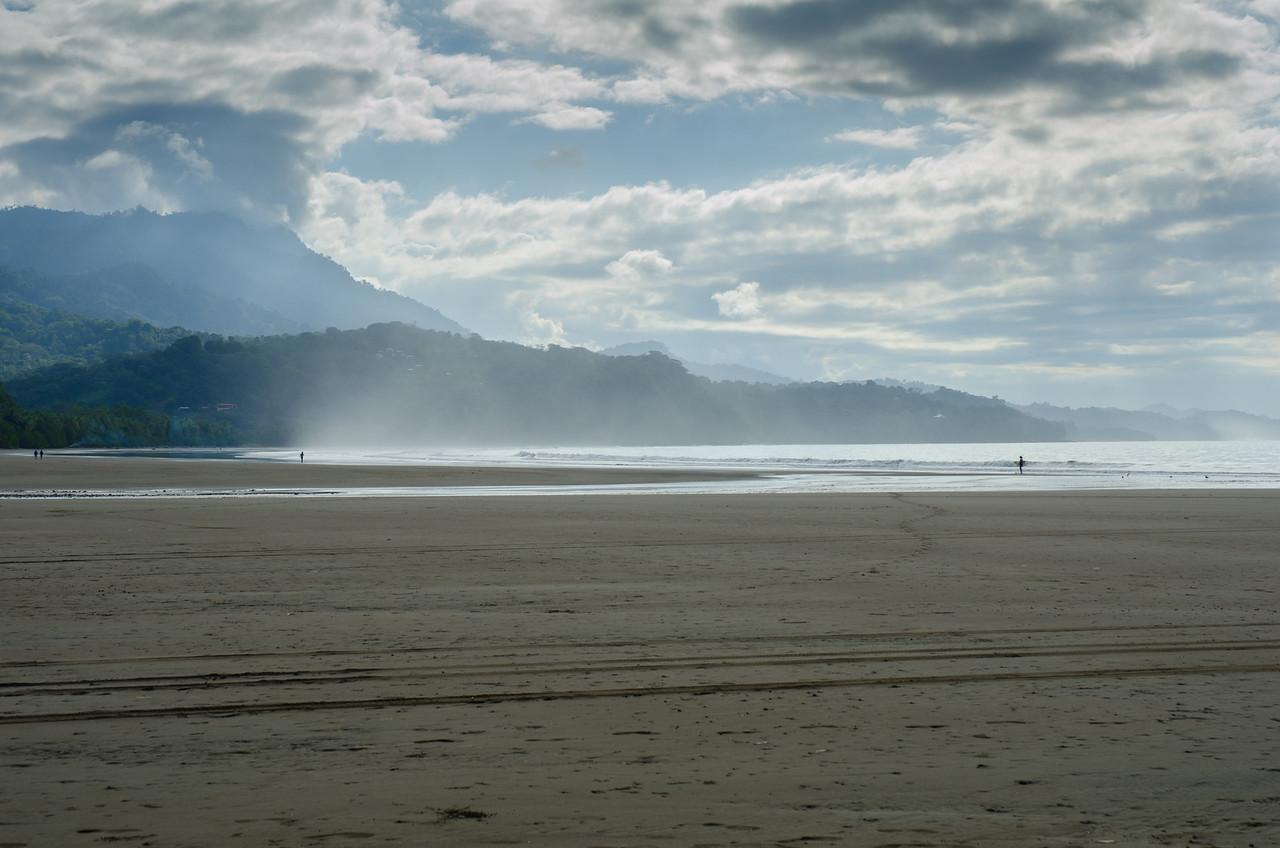 Playa de Uvita. Aquí cojimos una lancha para ir a hacer snorkel.