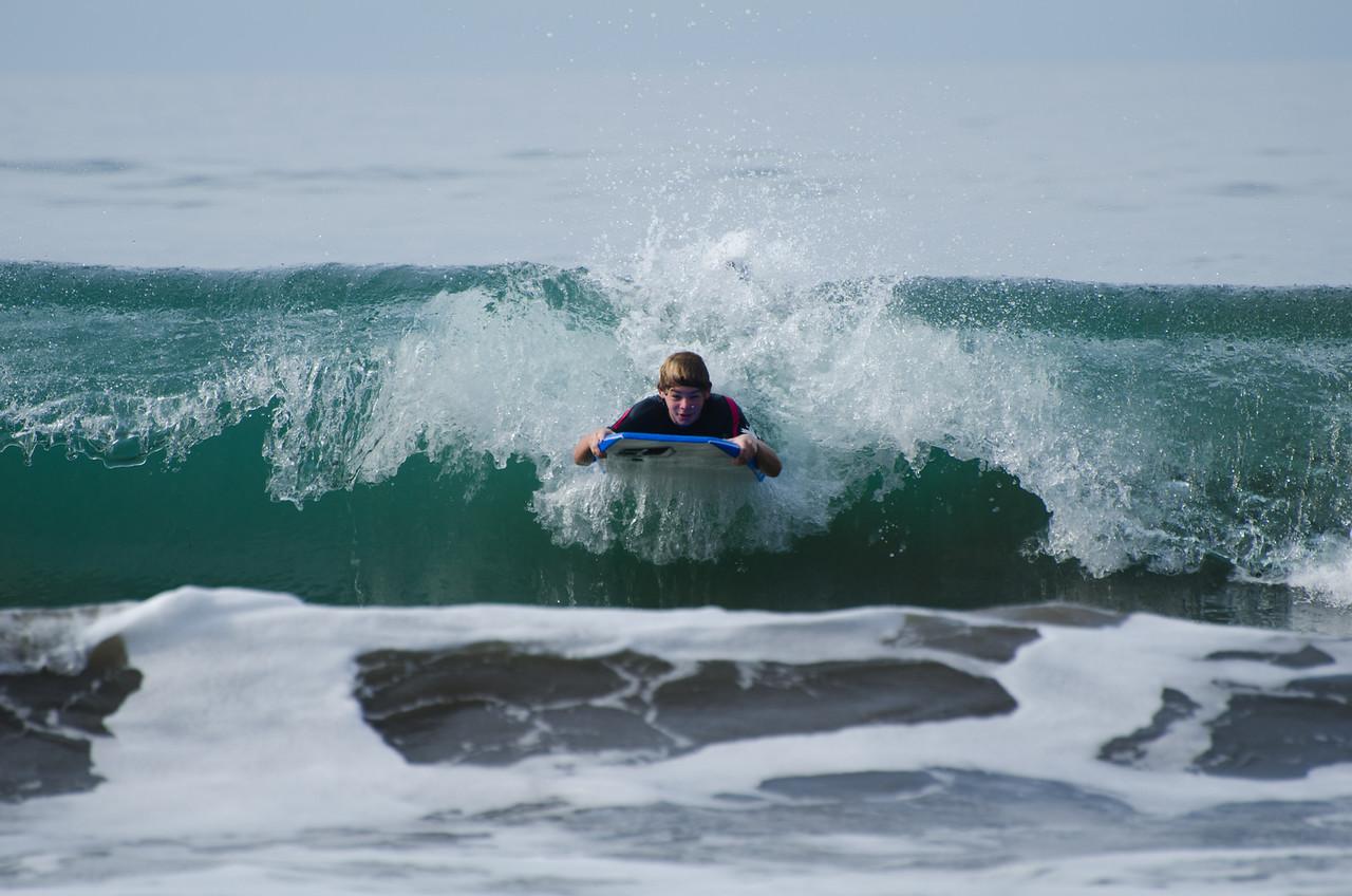 ¡Sobre las olas!