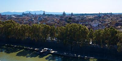 Vista desde Castel Sant'Angelo.