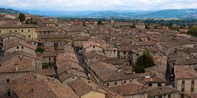 Vista desde el Palazzo dei Consoli.