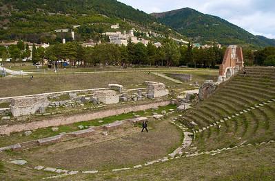Gubbio, circo romano.