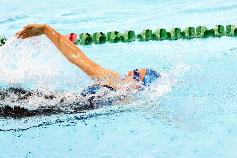 13-12-16. 2016 Victorian Age Swimming Championships, MSAC.  Isabella Smorgon. Girls17-18 200m medley. Photo: Peter Haskin