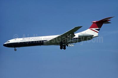 British Airways Super VC10 Series 1151 G-ASGB (msn 852) LHR (Richard Vandervord). Image: 905638.