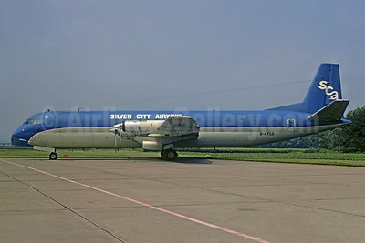 Silver City Airways-SCA Vickers Vanguard 952F G-AYLD (msn 730) DUS (Christian Volpati Collection). Image: 951154.
