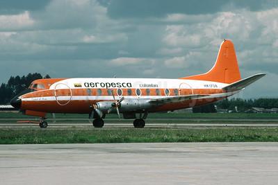 Aeropesca Colombia Vickers Viscount 745D HK-1708 (msn 138) BOG (Richard Vandervord). Image: 901254.