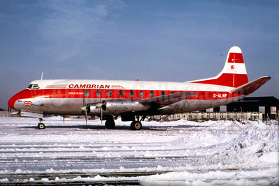 Cambrian Airways Vickers Viscount 701 G-ALWF (msn 5) (Christian Volpati Collection). Image: 934101.