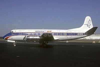 Atlantic Gulf Airlines-Go Air Vickers Viscount 745D N140RA (msn 191) PIE (Bruce Drum). Image: 103348.