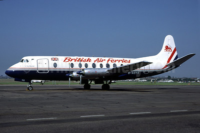 British Air Ferries Vickers Viscount 806 G-AOYG (msn 256) (Richard Vandervord). Image: 906467.