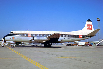 Airline Color Scheme - Introduced 1959 - Best Seller