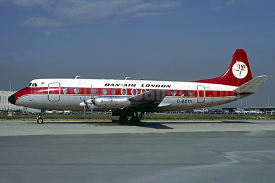 Dan-Air London (Dan-Air Services) Vickers Viscount 839 G-BCZR (msn 446) CDG (Christian Volpati). Image: 921654.