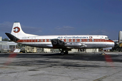 Air Caribbean Vickers Viscount 807 VP-LKA (msn 282) FLL (Bruce Drum). Image: 105269.