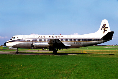 Air Ferry Vickers Viscount 812 G-AVNJ (msn 361) SEN (Jacques Guillem Collection). Image: 930669.