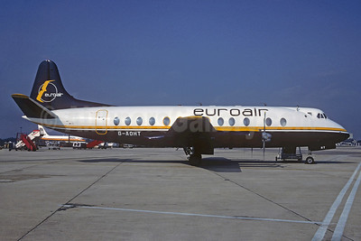 Euroair (UK) Vickers Viscount 802 G-AOHT (msn 168) LGW (Christian Volpati Collection). Image: 930782.